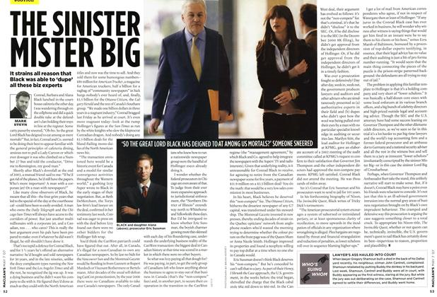 Article Preview: THE SINISTER MISTER BIG, MAY 7th 2007 2007 | Maclean's