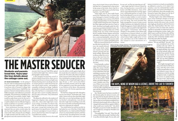Article Preview: THE MASTER SEDUCER, MAY 7th 2007 2007 | Maclean's