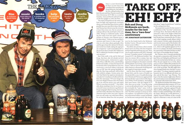 Article Preview: TAKE OFF, EH! EH?, MAY 7th 2007 2007 | Maclean's