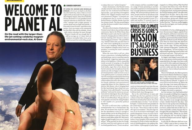 Article Preview: WELCOME TO PLANET AL, May 2007 | Maclean's