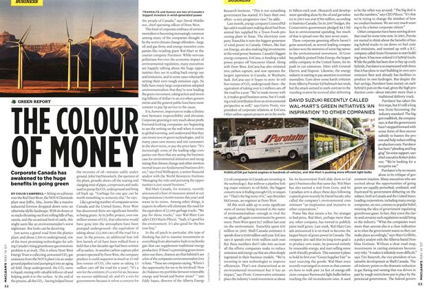 Article Preview: THE COLOUR OF MONEY, May 2007 | Maclean's