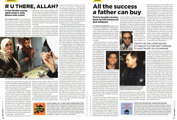 Article Preview: R U THERE, ALLAH?, May 2007 | Maclean's