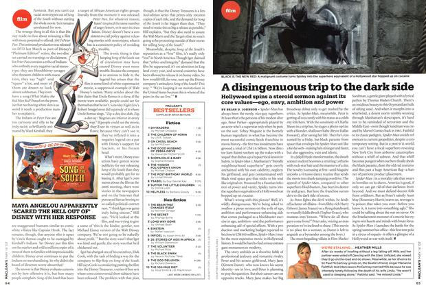 Article Preview: A disingenuous trip to the dark side, May 2007 | Maclean's