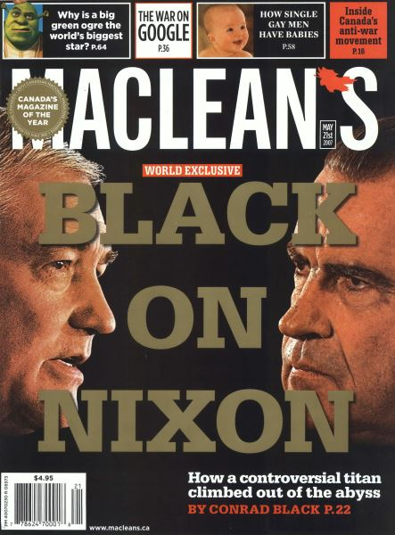 Issue: - MAY 21st 2007 | Maclean's
