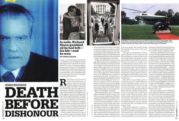 Article Preview: DEATH BEFORE DISHONOUR, MAY 21st 2007 2007 | Maclean's