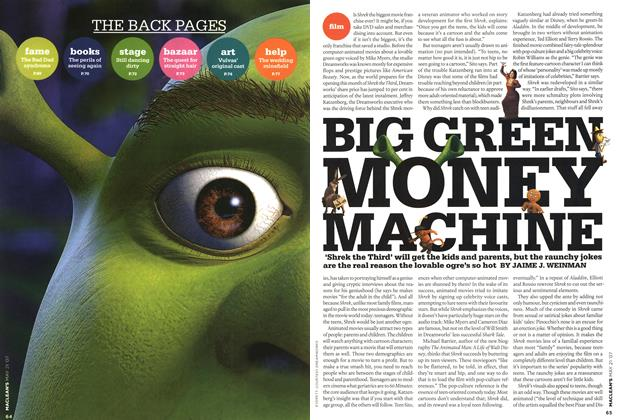 Article Preview: BIG GREEN MONEY MACHINE, MAY 21st 2007 2007 | Maclean's