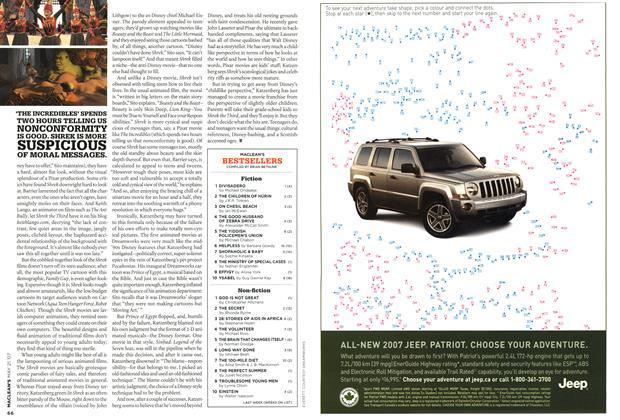 Article Preview: MACLEAN'S BESTSELLERS, MAY 21st 2007 2007 | Maclean's