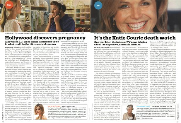Article Preview: Hollywood discovers pregnancy, MAY 28th 2007 2007 | Maclean's