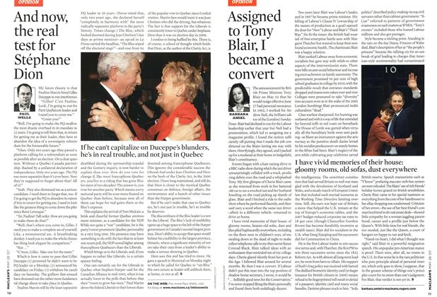 Article Preview: And now, the real test for Stéphane Dion, MAY 28th 2007 2007 | Maclean's