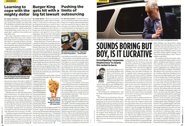 Article Preview: SOUNDS BORING BUT BOY, IS IT LUCRATIVE, JUN. 4th 2007 2007 | Maclean's
