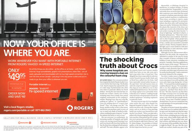 Article Preview: The shocking truth about Crocs, JUN. 4th 2007 2007 | Maclean's