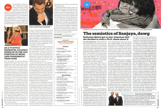 Article Preview: The semiotics of Sanjaya, dawg, JUN. 4th 2007 2007 | Maclean's