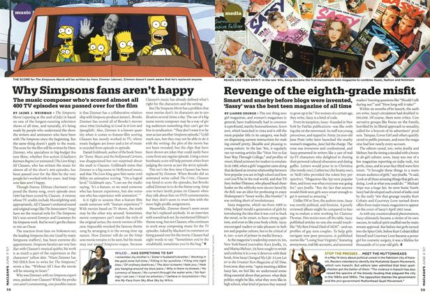 Article Preview: Revenge of the eighth-grade misfit, JUN. 4th 2007 2007 | Maclean's