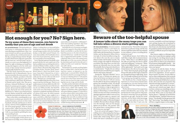 Article Preview: Hot enough for you? No? Sign here., JUN. 4th 2007 2007 | Maclean's