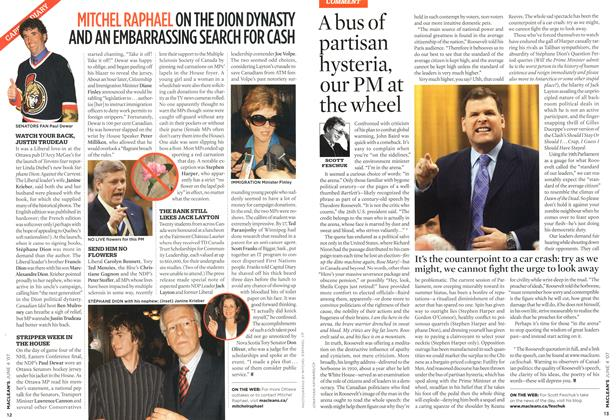 Article Preview: A bus of partisan hysteria, our PM at the wheel, JUN. 4th 2007 2007 | Maclean's