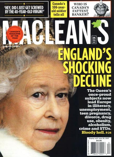 Issue: - JUN. 11th 2007 | Maclean's