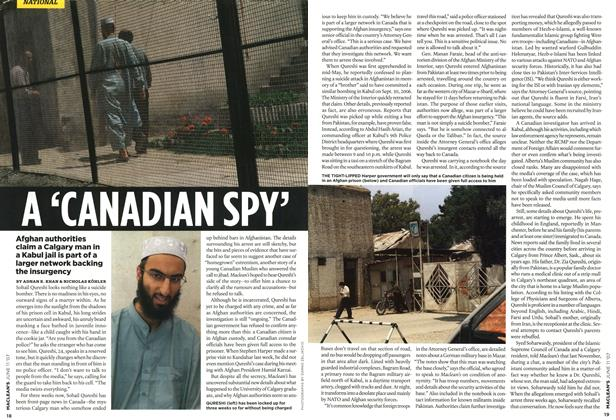 Article Preview: A 'CANADIAN SPY', JUN. 11th 2007 2007 | Maclean's