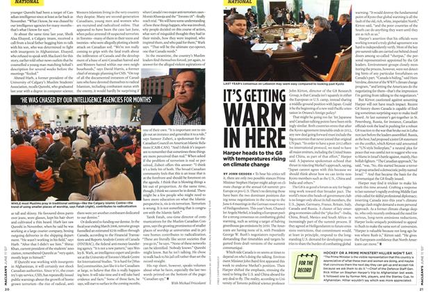 Article Preview: IT'S GETTING WARM IN HERE, JUN. 11th 2007 2007   Maclean's