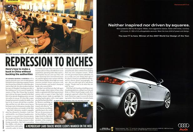 Article Preview: REPRESSION TO RICHES, JUN. 11th 2007 2007 | Maclean's