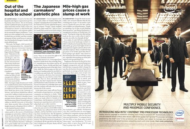 Article Preview: The Japanese carmakers' patriotic plea, JUN. 11th 2007 2007 | Maclean's