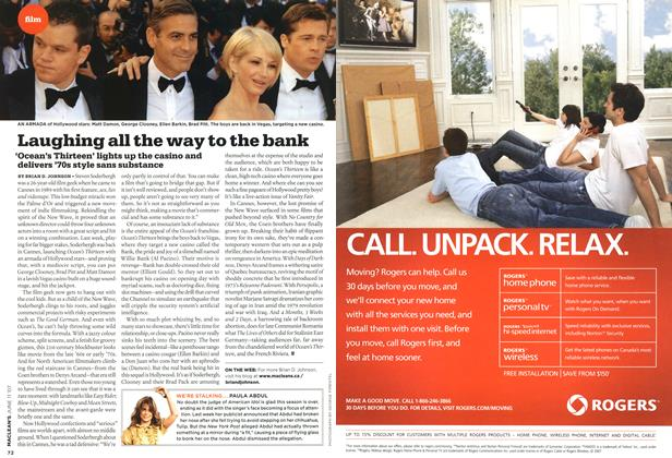 Article Preview: Laughing all the way to the bank, JUN. 11th 2007 2007 | Maclean's
