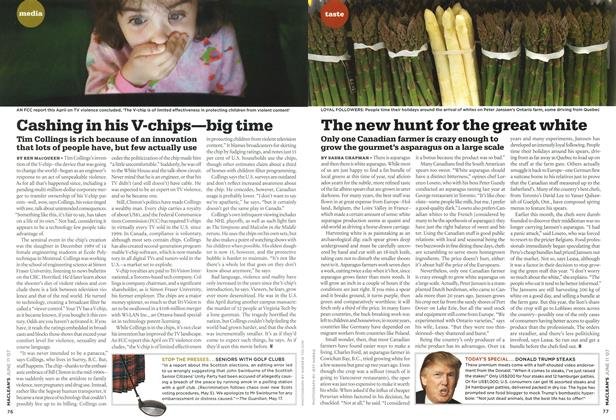 Article Preview: Cashing in his V-chips—big time, JUN. 11th 2007 2007 | Maclean's