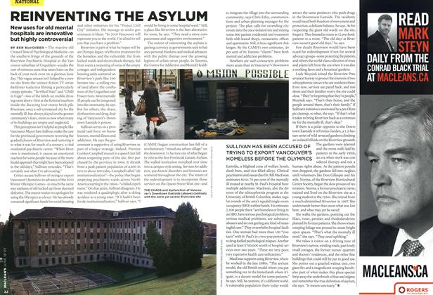 Article Preview: REINVENTING THE ASYLUM, JUN. 18th 2007 2007 | Maclean's