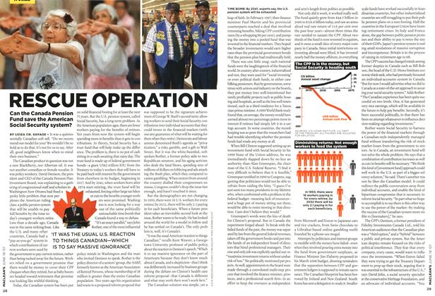 Article Preview: RESCUE OPERATION, JUN. 18th 2007 2007 | Maclean's