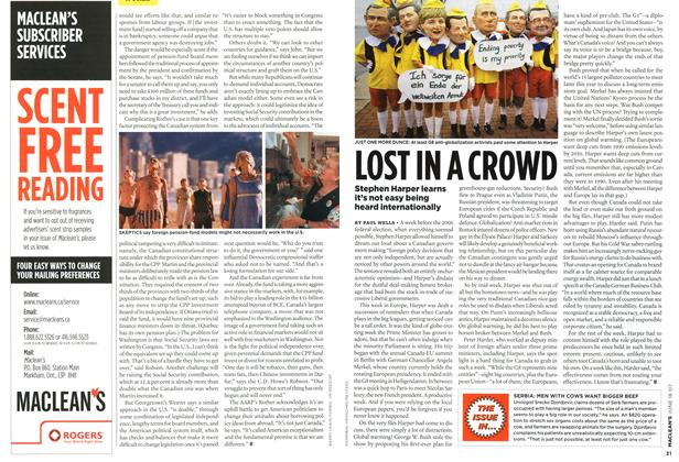 Article Preview: LOST IN A CROWD, JUN. 18th 2007 2007 | Maclean's