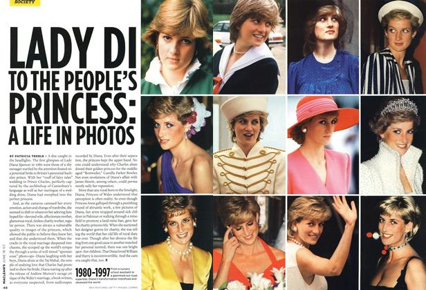 Article Preview: LADY DI TO THE PEOPLE'S PRINCESS: A LIFE IN PHOTOS, JUN. 18th 2007 2007 | Maclean's