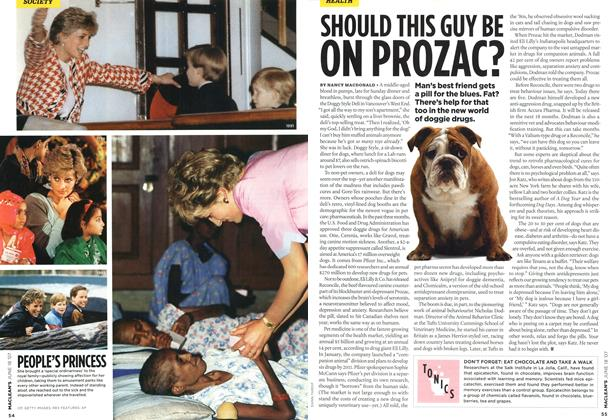Article Preview: SHOULD THIS GUY BE ON PROZAC?, JUN. 18th 2007 2007 | Maclean's