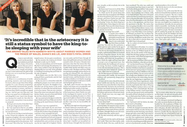 Article Preview: INTERVIEW, JUN. 25th 2007 2007 | Maclean's