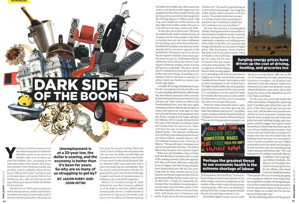 Article Preview: DARK SIDE OF THE BOOM, JUN. 25th 2007 2007 | Maclean's