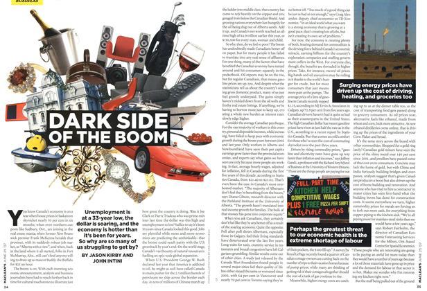 Article Preview: DARK SIDE OF THE BOOM, JUN. 25th 2007 2007 | Maclean's