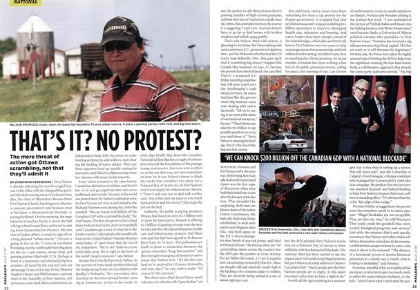 Article Preview: THAT'S IT? NO PROTEST?, JUL. 2nd 2007 2007 | Maclean's