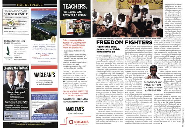 Article Preview: FREEDOM FIGHTERS, JUL. 2nd 2007 2007 | Maclean's