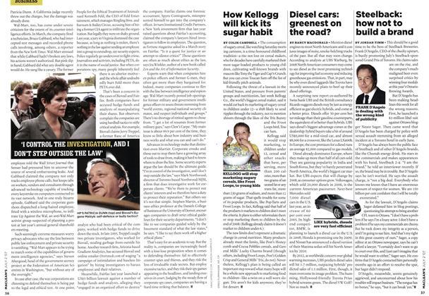 Article Preview: How Kellogg will kick its sugar habit, JUL. 2nd 2007 2007 | Maclean's