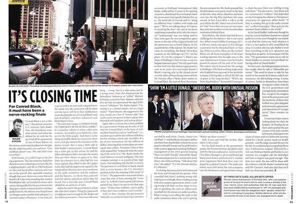 Article Preview: IT'S CLOSING TINE, JUL. 2nd 2007 2007 | Maclean's