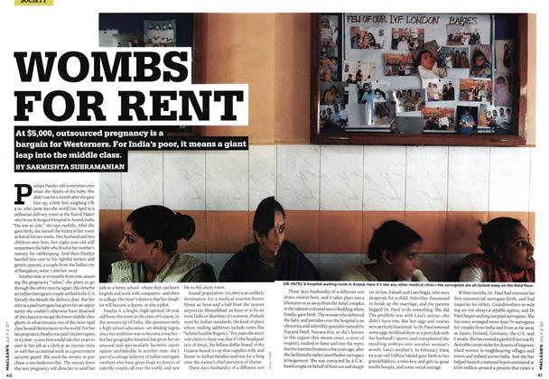 Article Preview: WOMBS FOR RENT, JUL. 2nd 2007 2007 | Maclean's