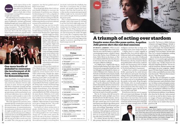 Article Preview: A triumph of acting over stardom, JUL. 2nd 2007 2007 | Maclean's