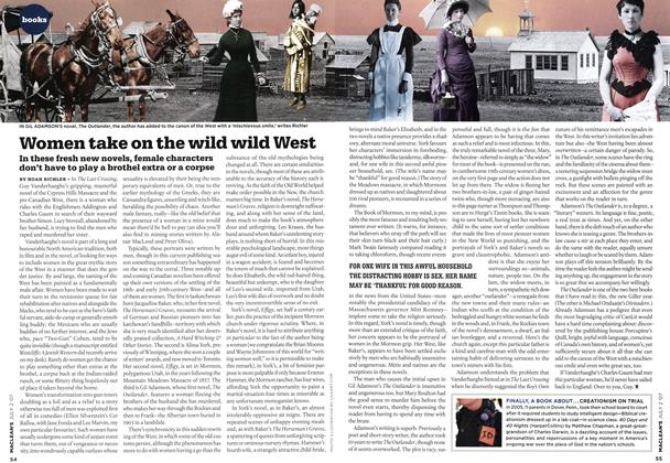 Article Preview: Women take on the wild wild West, JUL. 2nd 2007 2007 | Maclean's
