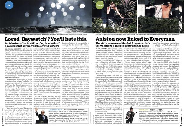Article Preview: Aniston now linked to Everyman, JUL. 2nd 2007 2007 | Maclean's