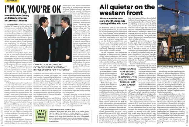 Article Preview: All quieter on the western front, JUL. 9th 2007 2007 | Maclean's