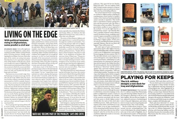 Article Preview: LIVING ON THE EDGE, JUL. 9th 2007 2007 | Maclean's