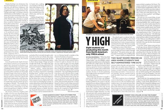 Article Preview: Y HIGH, JUL. 9th 2007 2007 | Maclean's