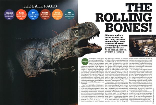 Article Preview: THE ROLLING BONES!, JUL. 9th 2007 2007 | Maclean's