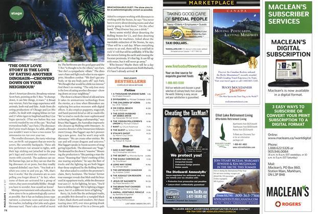 Article Preview: MACLEAN'S BESTSELLERS, JUL. 9th 2007 2007 | Maclean's