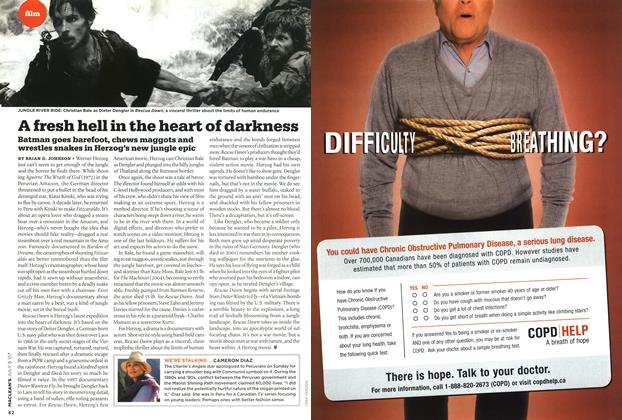 Article Preview: A fresh hell in the heart of darkness, JUL. 9th 2007 2007 | Maclean's