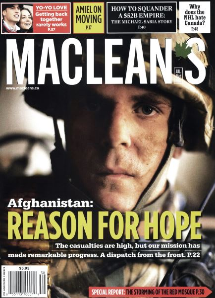 Issue: - JUL. 23rd 2007 | Maclean's