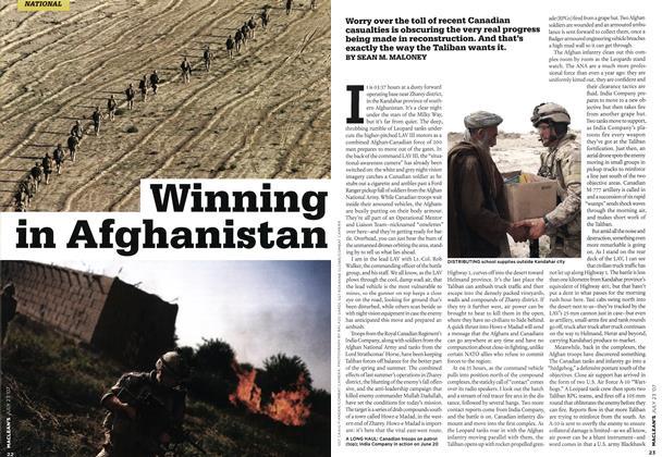 Article Preview: Winning in Afghanistan, JUL. 23rd 2007 2007 | Maclean's